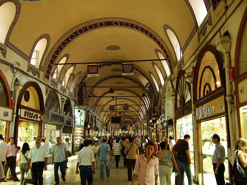 The Grand Bazaar: Istanbul, Turkey